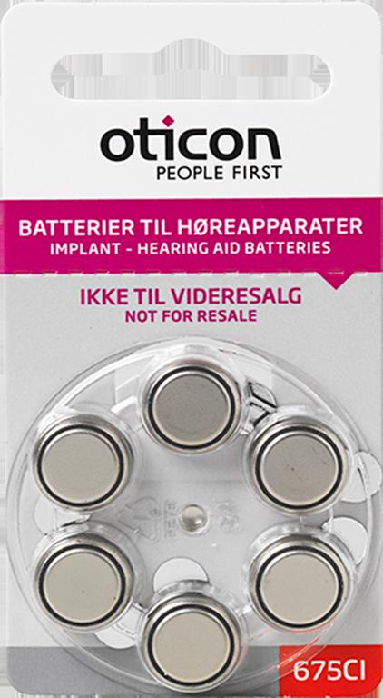 Batteri str. 675 CI