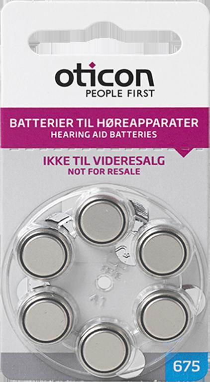 Batteri str. 675